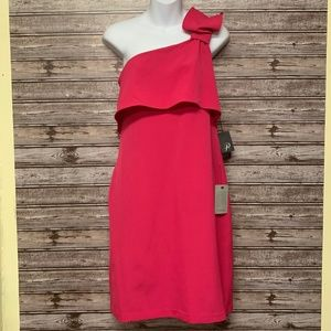 Adrianna Papell One Shoulder Cocktail Dress NWT